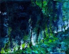 Jardin nocturne en soi - Vendu/Sold